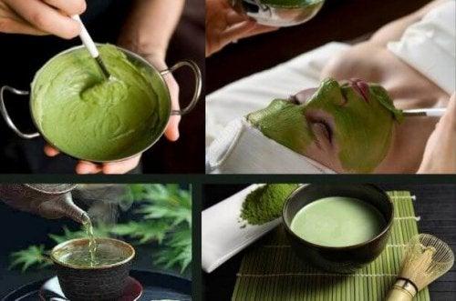 Grüner Tee kann Hautprobleme bekämpfen