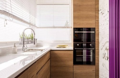kleine Küchen gestalten