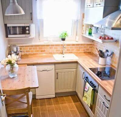 Einrichtungstipps für kleine Küchen