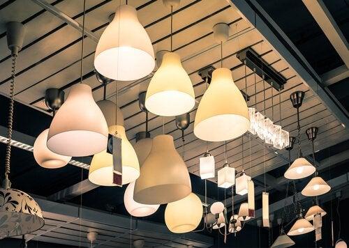 Lampen passend zum Vintagestil