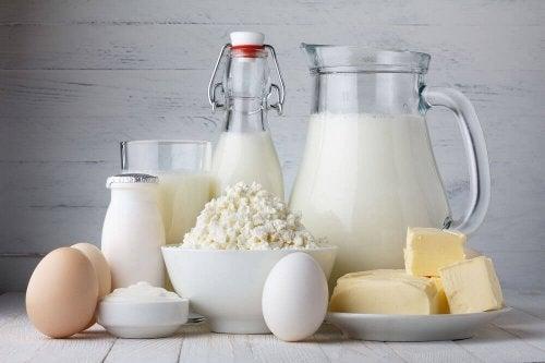 Milchprodukte während einer Entzündung
