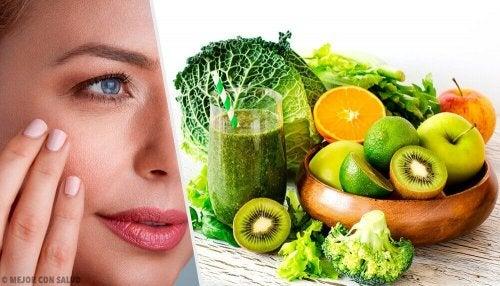 Obst für die Haut wirkt gegen Trockenheit