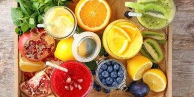 Obst kann den Körper entgiften