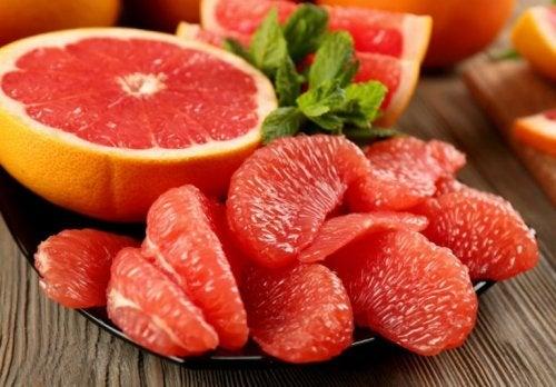 Obstsorten zum Abnehmen: Grapefruit