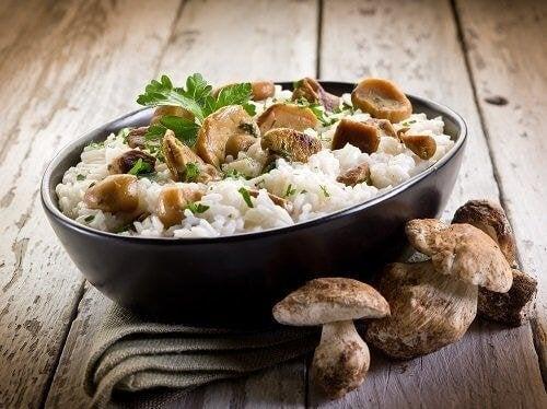 Reisrezepte sind lecker