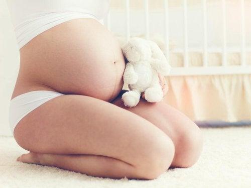 Linea negra in der Schwangerschaft