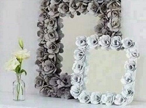 Spiegel passend zum Vintagestil