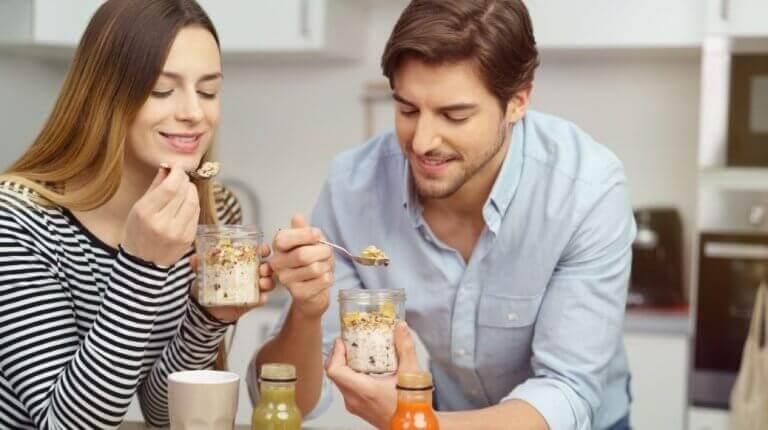 Rezepte für Hafermilch-Smoothies