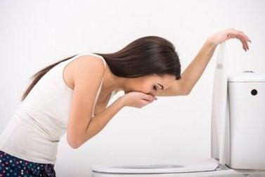 Übelkeit bei Magengeschwüren
