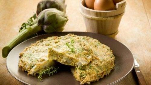Artischocken-Rezepte: Tortilla