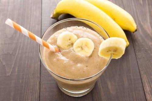 Rezepte mit Kurkuma: Bananen-Shake