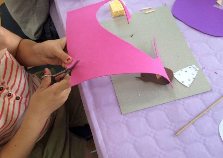 5 einfache Bastelarbeiten mit Moosgummi