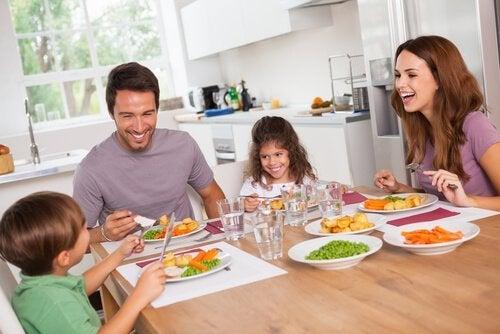 Familie isst weniger Kohlenhydrate