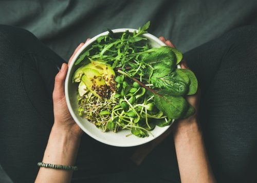 Koreanische Diäten: viel Gemüse