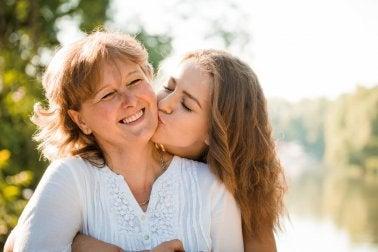 gute Mutter-Kind-Beziehung