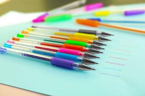 Kugelschreiberflecken verhindern