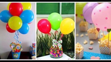 Candy barmit Luftballons