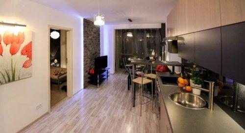 minimalistische Wohnungen