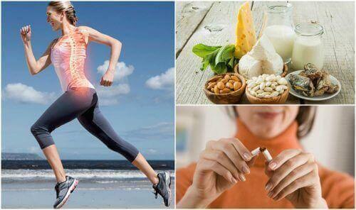7 Gewohnheiten, um Osteoporose vorzubeugen