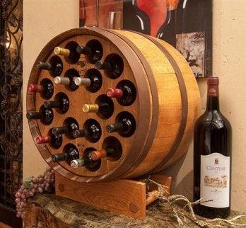 Recyclingideen für Weinfaß