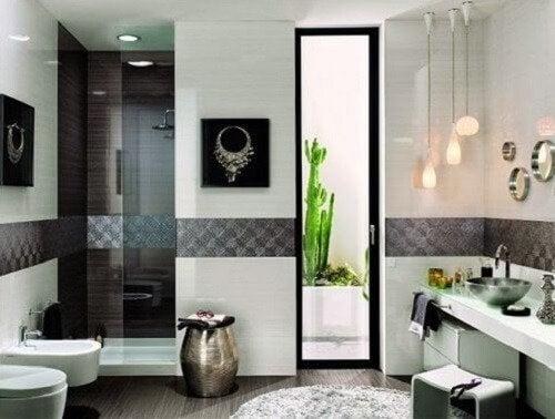 moderne Badgestaltung