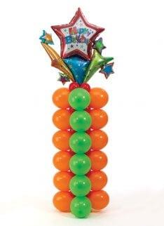 Säule aus Ballons