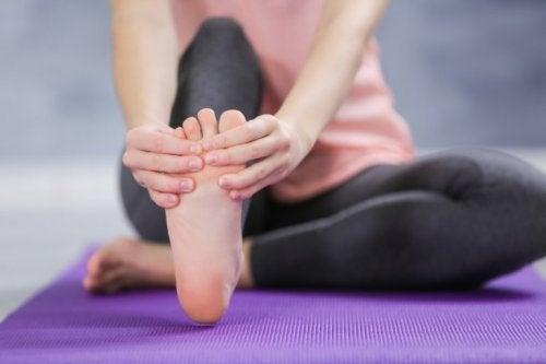 Schmerzen durch Flip-Flops