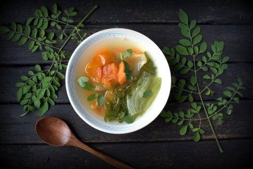 Gemüsesuppe und weitere schnelle Abendessen