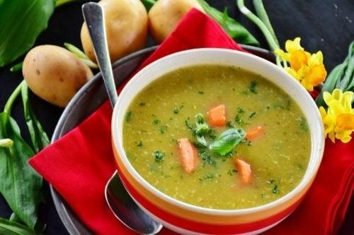Koreanische Diäten: Scharfe Suppen