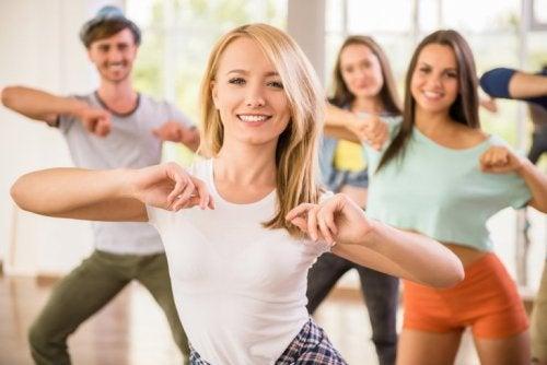 Tanzen ist gesund für deinen Körper