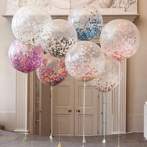 Transparente Ballons