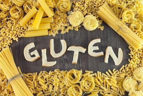 Weißbrot enthält viel Gluten