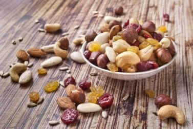 winterliche Lebensmittel: Trockenfrüchte