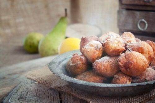 zuckerfreie Nachspeisen: spanische Krapfen