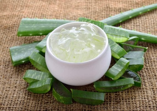 Aloe vera gegen Altersflecken