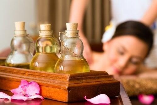 Aromatherapie wirkt entspannend
