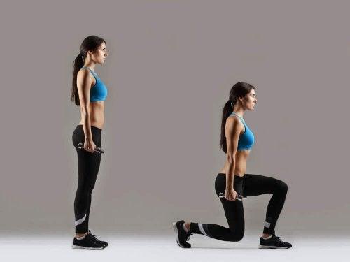 Ausfallschritte sind tolle Muskelaufbau-Übungen für deine Beine