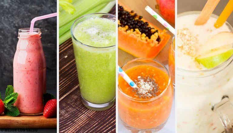 Probiere diese 4 leckeren und gesunden Detox-Smoothies
