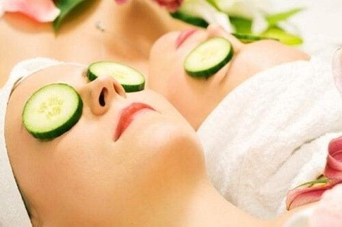 Gurken sorgen für jugendliche Haut