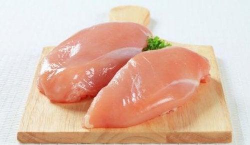 Filet eigent sich gut für reis mit Huhn