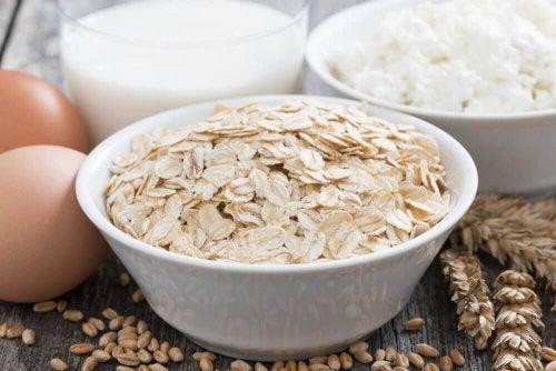 Haferflocken zur Senkung des Cholesterinspiegel