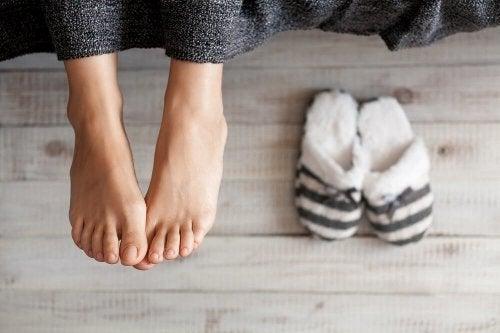 Ursachen für Muskelkrämpfe: schlechte Durchblutung der Beine