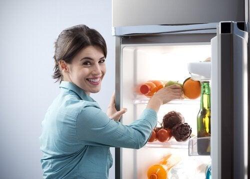 Kühlschrank gesund mit knappem Budget