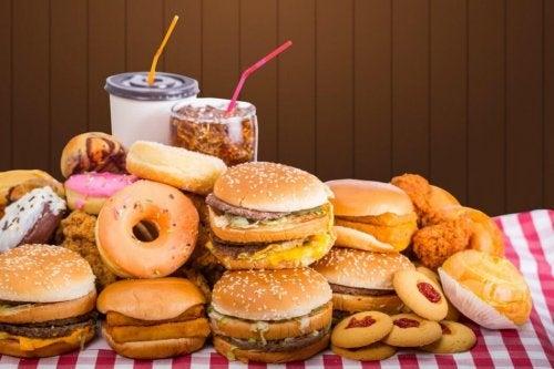 meide Hamburger für bessere Verdauung