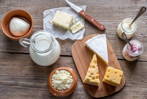 Milchprodukte für ein kerngesundes Frühstück
