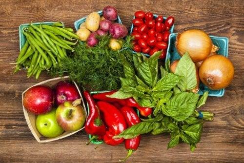 Organische Produkte befreien dich von Giften.