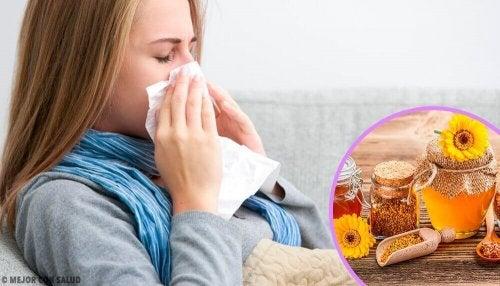 Propolis gegen erste Erkältungs- und Grippeanzeichen