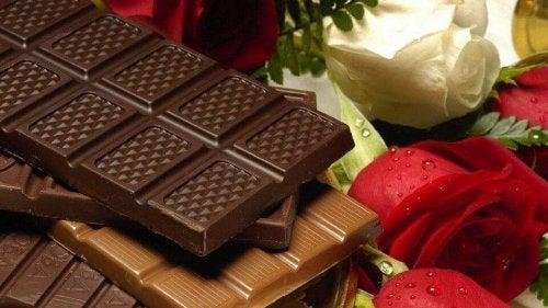 Schokolade für eine tolle Haut