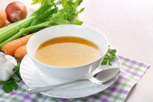 Suppe hilft gegen Erbrechen