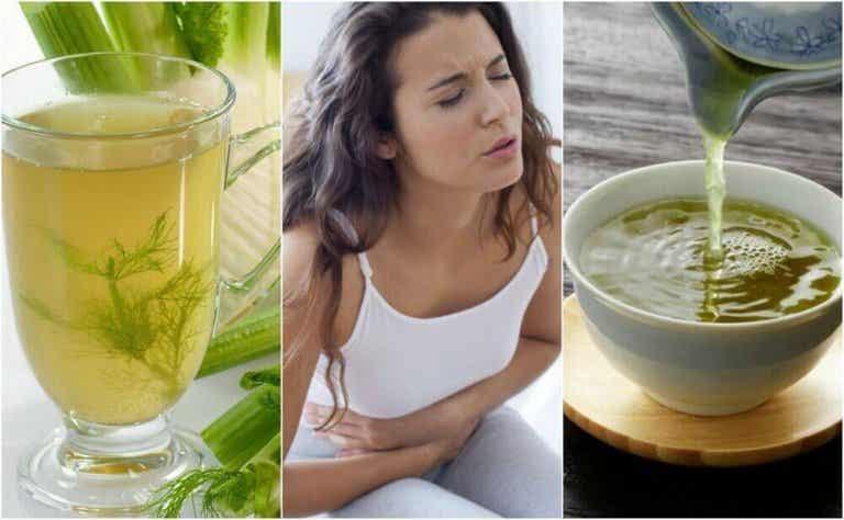 5 natürliche Tees gegen Verdauungsstörungen